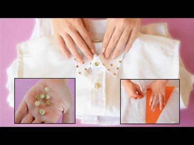 Cómo Transformar Camisa de Hombre a una de Mujer | Naila Londoño