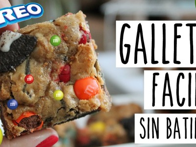 Galletas Fáciles SIN BATIDORA! | RebeO