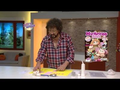 Jorge Rubicce - Bienvenidas en HD - Modela escarpines con porcelana fría.