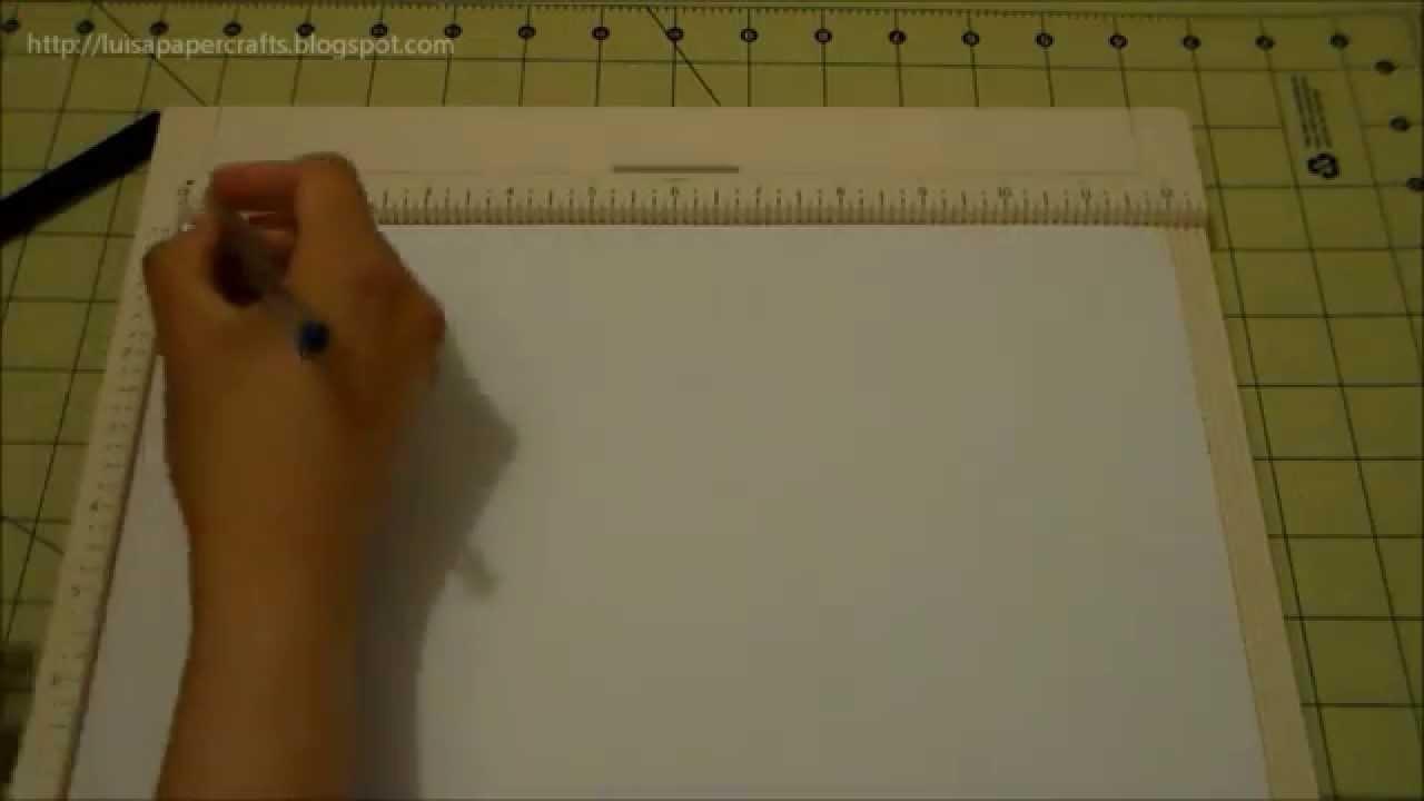 Mini Album para Niña - Explicación del Encuadernado y Formato de la Página   Luisa PaperCrafts