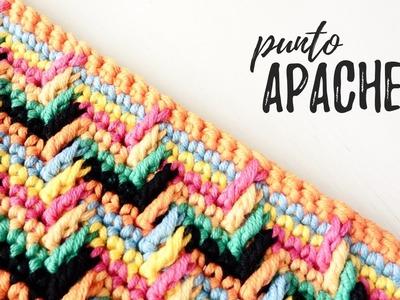 Punto MARAVILLOSO a crochet. Punto APACHE | AHUYAMA CROCHET