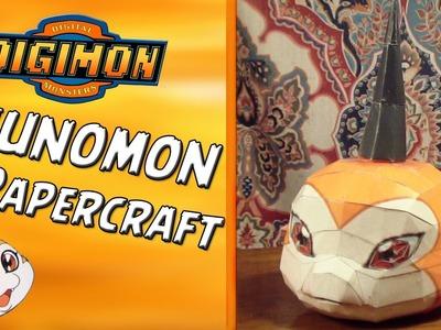 Tsunomon Papercraft | SPEEDBUILD | (Digimon Papercraft #1) por FelipeBlast