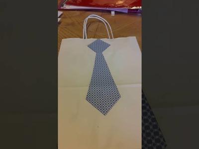 Bolsas de regalo. decoradas para hombre
