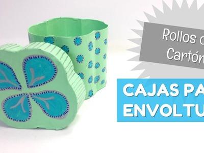 Cajas hechas con rollos de papel | facilisimo.com
