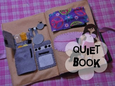 Cómo hacer un Quiet Book: Parte 2 - La cocina