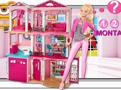 Cómo montar la Nueva Barbie Dreamhouse 2015 Casa Sueños Barbie - juguetes Barbie en español toys