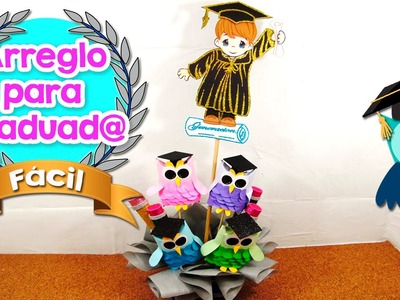 DIY | Arreglo para Graduación | Fácil | PumitaNegraArt