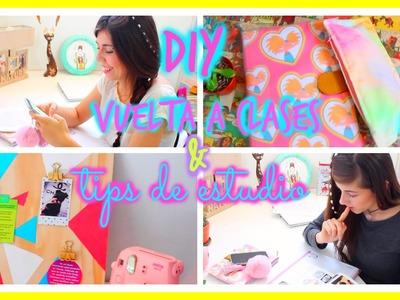 DIY vuelta a clases + Tips de estudio ♥