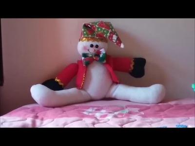 Muñeco de Nieve Piernas Abiertas
