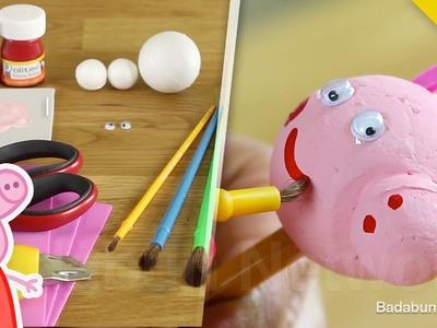 Accesorio de Peppa Pig que tú mismo puedes crear. Es fácil y muy barato