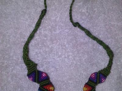 Collar multicolor- hecho a mano