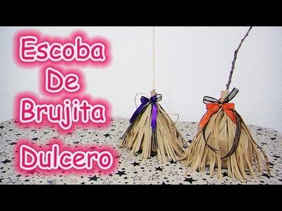 ESCOBA DE BRUJA. WITCH BROOM | TRICK OR TREAT.CALAVERITA | HALLOWEEN.DIA DE MUERTOS - YuureYCrafts