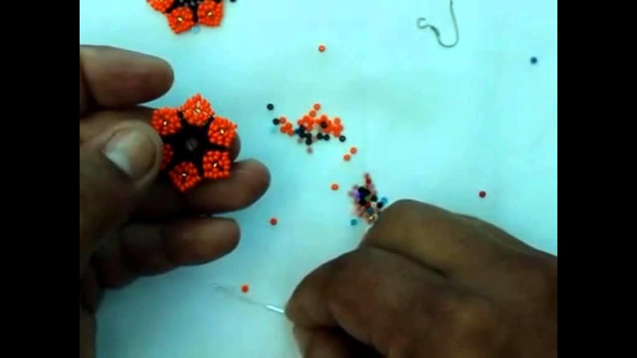 LOS MEJORES VIDEOS DE MI CANAL. aretes en mostacilla
