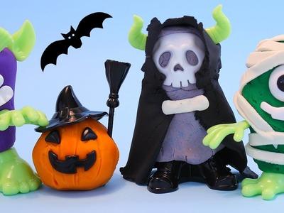 PLASTILINA de Halloween • Juego de Plastilina día de los muertos