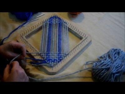 TELAR BASTIDOR CUADRADO tafetan en 2 colores