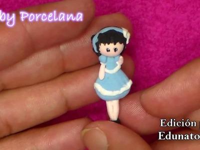 Como hacer muñeca de foamy moldeable (Miniatura). Foamy moldeable