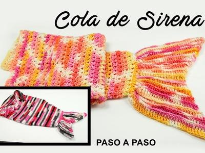 DIY. COLA DE SIRENA PASO A PASO.