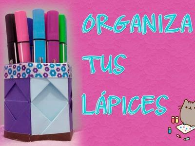 DIY: Organizador de lápices - Gabyts