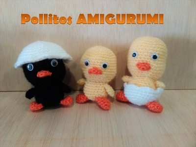 Pollitos AMIGURUMI