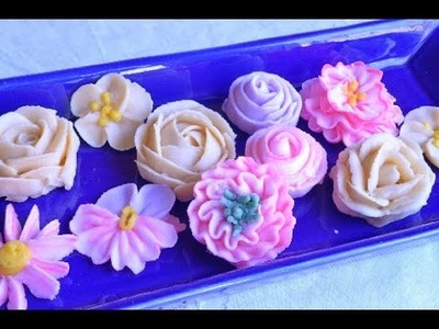 10 Flores en Buttercream