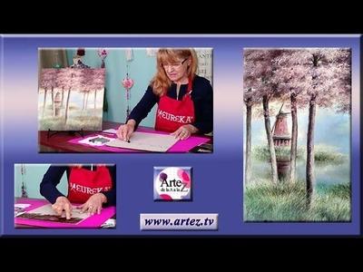 Aprende a trabajar con oleo pastel  (VI) - Planos Visuales