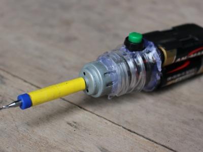 Cómo hacer que una máquina de perforación de mini | Muy barato