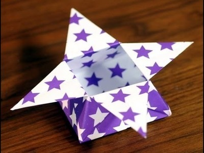 Cómo Hacer una Caja de Estrella en Origami - Hogar Tv  por Juan Gonzalo Angel