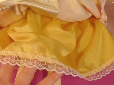 Cuerpo y enaguas de la princesa irene  3.7 video- 167