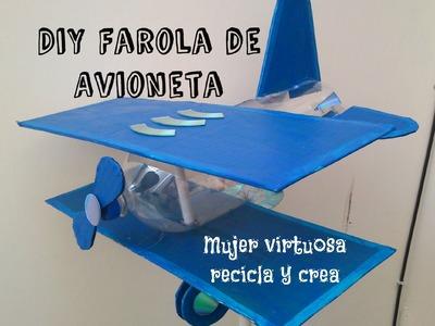 Diy Farola Escolar Reciclada de Avioneta
