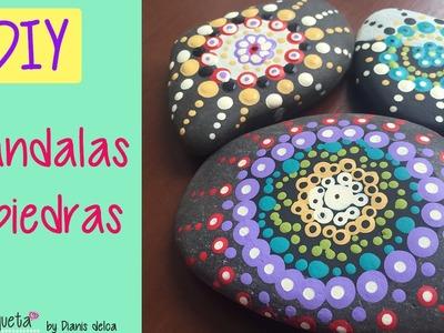 DIY: Mandalas en piedras :)