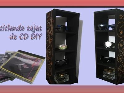 DIY Reciclando cajas de CD