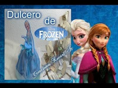 Dulcero de Elsa Frozen Material reciclado Vaso Plastico