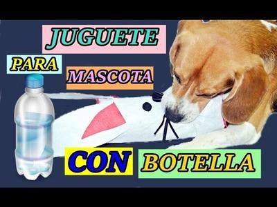 JUGUETE para MASCOTA con BOTELLA reciclada ( TOY DOG ) - BeagleArts ♥