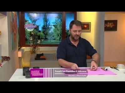 Martín Muñoz - Bienvenidas en HD - Hace fanales con puntillas y silicona.