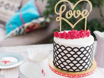 Tarta para San Valentín - Receta - María Lunarillos | tienda & blog