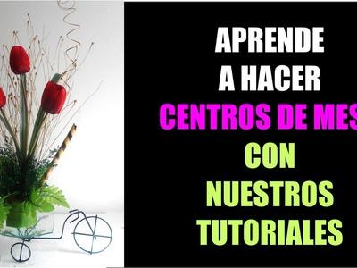 Tutorial 4 Como Hacer Centro de Mesa Vintage Carreta Bicicleta para Eventos El Regalo Especial