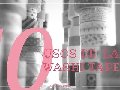 10 Usos para la Washi Tape ¿Se te ocurren más? ¡Compártelo con todos en los comentarios!