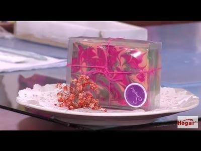 Como hacer Jabón con Técnica Swirl -Remolino- Hogar Tv  por Juan Gonzalo Angel