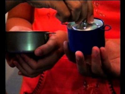Como hacer olla y cacerolas o sartén de reciclaje en Cuenticos_