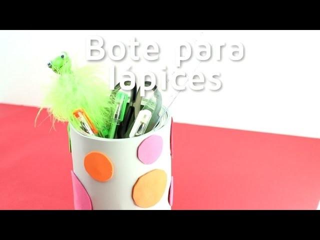 Cómo hacer un bote para los lápices con una lata   facilisimo.com