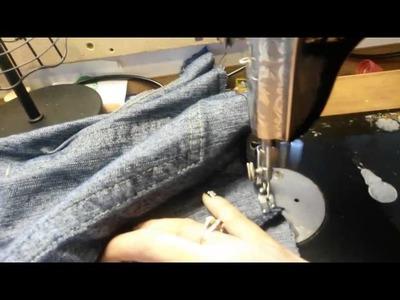 Cómo hacer una cartera con un par de jeans (1.2)