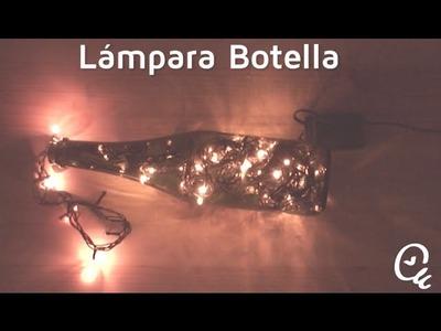 Cómo hacer una lámpara con una botella | facilisimo.com