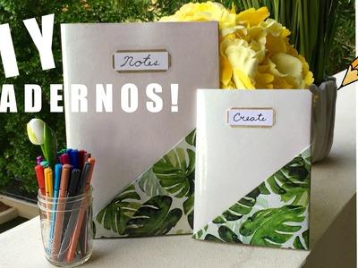 Decora tus cuadernos para este regreso a clases!!