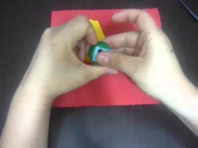 Elabora un juego trique con tapas y foamy  No.123 Manualidades la hormiga