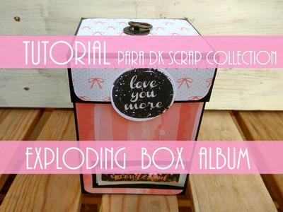 "EXPLODING BOX ALBUM ""Reciclada"" para DK Scrap Collection"