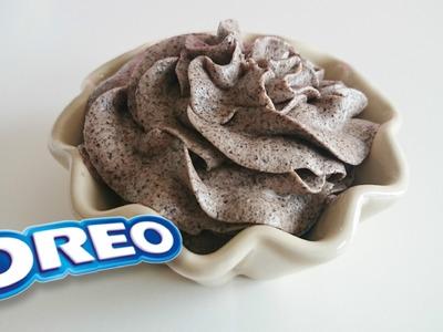 Frosting de Oreo Postres Mil