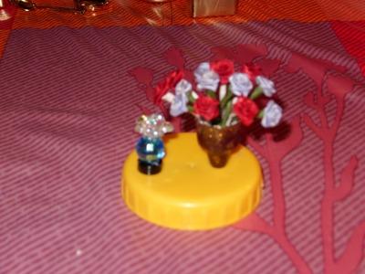 Miniatura DIY Macetita con flores