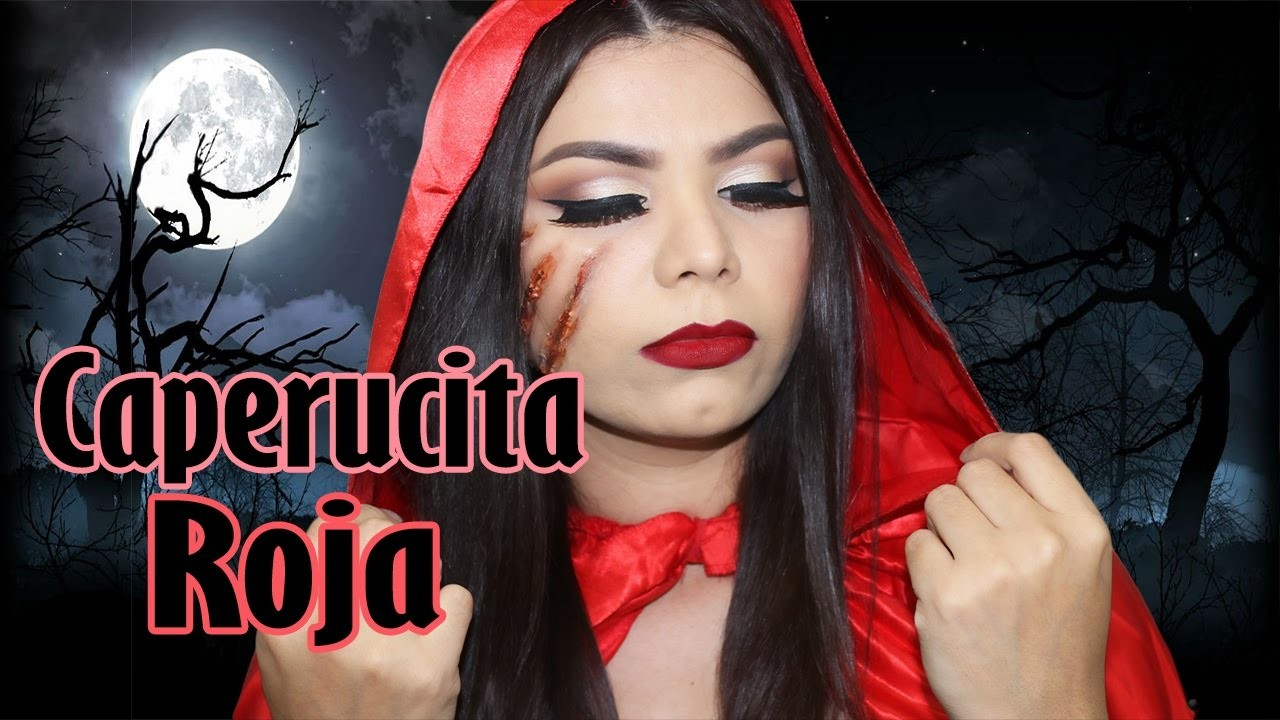 Caperucita Roja Halloween.Sexy Maquillaje Caperucita Roja Para Halloween