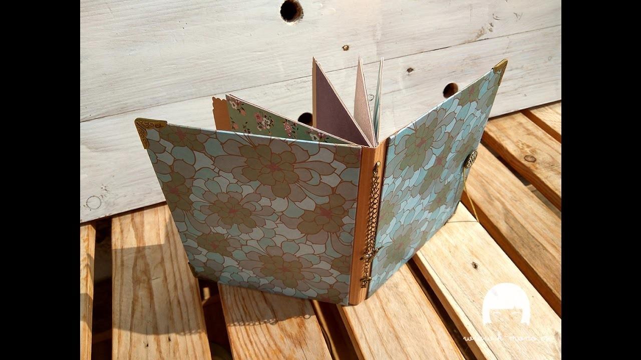 """TUTORIAL: Mini álbum con el set de tarjetas """"Book Club"""""""