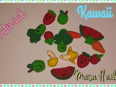 TUTORIAL: Mini Frutas de Masa flexible Kawaii